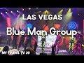 B-Roll of Blue Man Group Las Vegas at Monte Carlo Resort ...