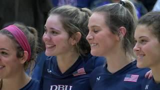 DBU Volleyball Highlights vs. Texas A&M International (11/3/18)