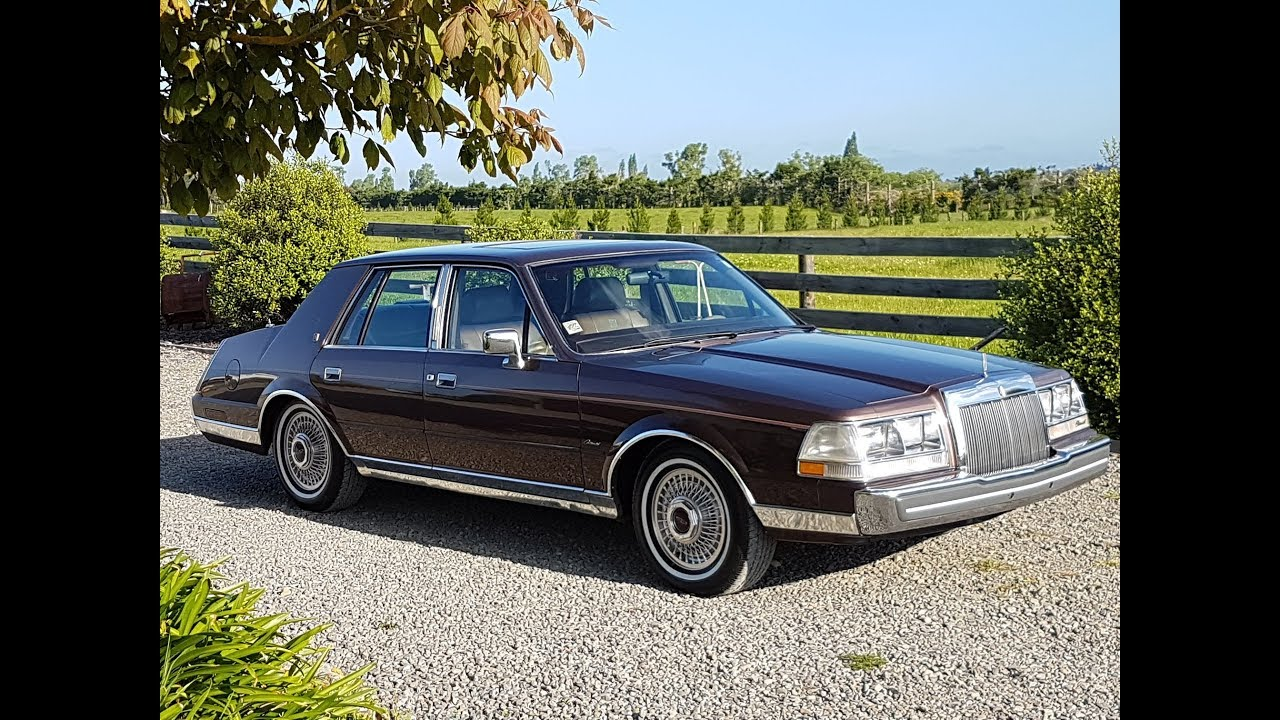 1986 Lincoln Continental Givenchy - Waimak Classic Cars - New ...