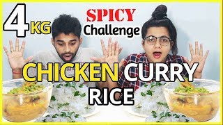 5 kg mutton curry rice eating challenge in hill