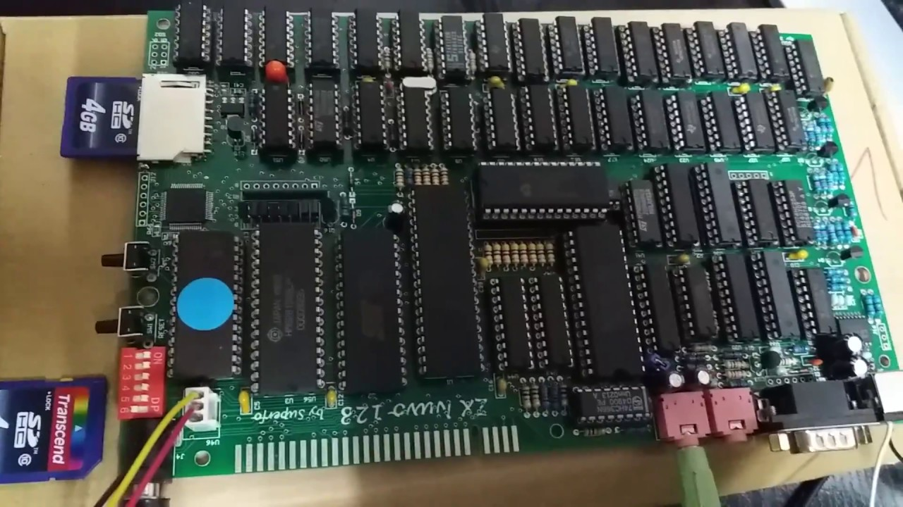 Zx Nuvo 128 Superfo Spectrum Clone Running Astro Marine Corps The Basic Digital Computing Circuitry Used In Sinclair