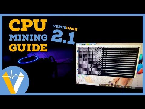 Increase Your Mining Profits! How To CPU & GPU Mine Veruscoin On Verushash 2.1 (2020 Mining Guide)