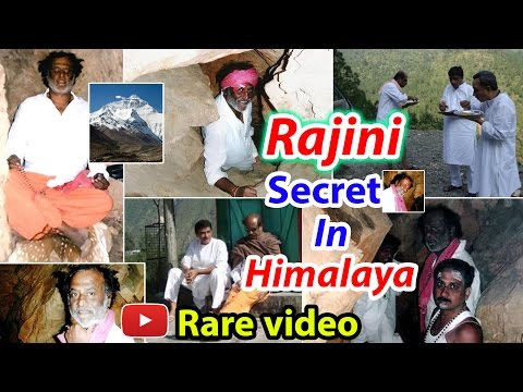 Rajini Secret In Himalaya Rare Vido - 2DAYCINEMA.COM