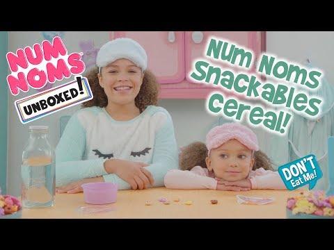 Unboxed!  Num Noms  Episode 7: Num Noms Snackables Cereal