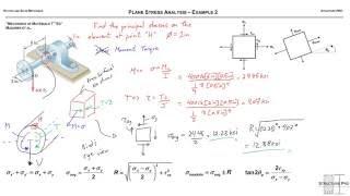 Plane Stress Analysis - Example 2