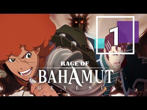 Rage Of Bahamut Genesis Episode 1 - English Dub