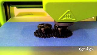 Cubify Timelapse_The Cube 3d Printing 2 Spacers