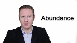 Abundance - Meaning | Pronunciation || Word Wor(l)d - Audio Video Dictionary