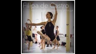 """Filipa de Castro rehearsing """"Sleeping Beauty"""""""