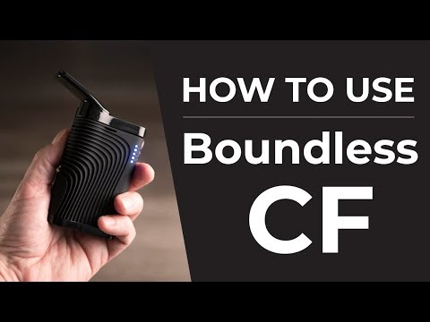 Boundless CF Quickstart User Guide   How To Use Your Boundless Vaporizer