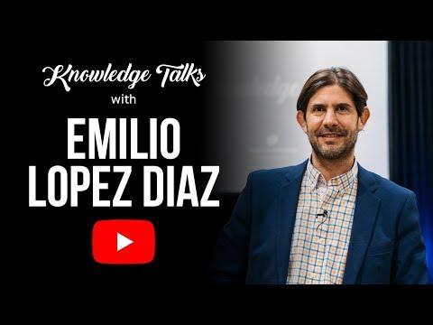 Toby's Estate Presents: Knowledge Talks With Emilio Lopez Diaz