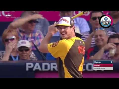 2016 HRD: Wil Myers gets hit by pitch in the derby