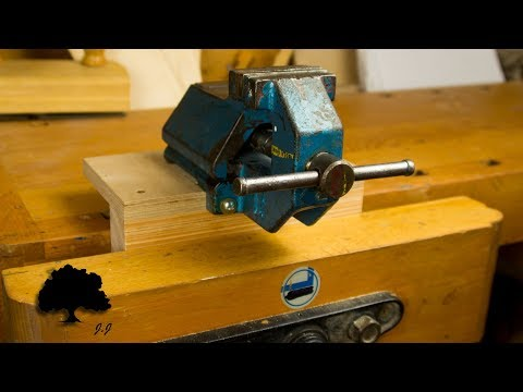 Vise for the Woodworking Workbench DIY