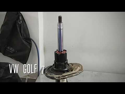 Автосервис ЛЕОТЕХ // Golf 7 Восстановление амортизатора