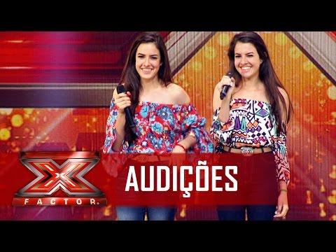 As gêmeas e o sertanejo de raíz  X Factor BR