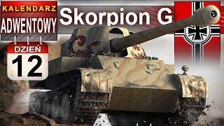 Skorpion G - niemiecka siła w kalendarzu adwentowym - World of Tanks