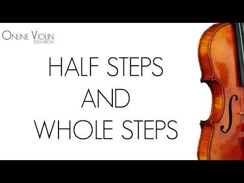 How to Read Music - Half Steps and Whole Steps