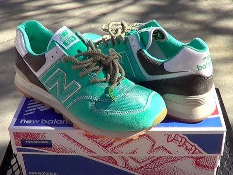 "Oshman's x Mita x New Balance ""Mojito"" 574 Review"