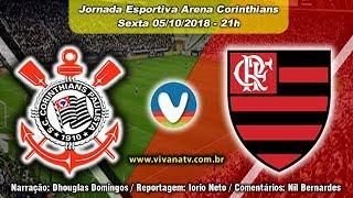 Corinthians 0x3 Flamengo | AO VIVO | Campeonato Brasileiro