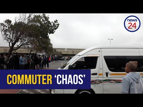 WATCH: 'It's chaos' - Mitchells Plain commuters frustrated by bus strike