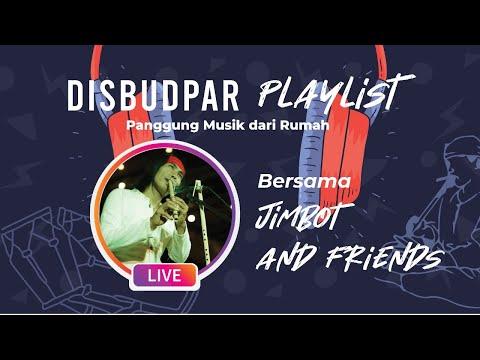 Disbudpar Playlist Ep.9 Perpaduan Musik Tradisional & Kontemporer with Iman Jimbot & Friends