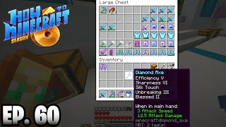 WE GOT THE BEST AXE!!! |H6M| Ep.60 How To Minecraft Season 6 (SMP)
