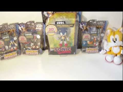 Unboxing: Sonic 20th Anniversary Figures!