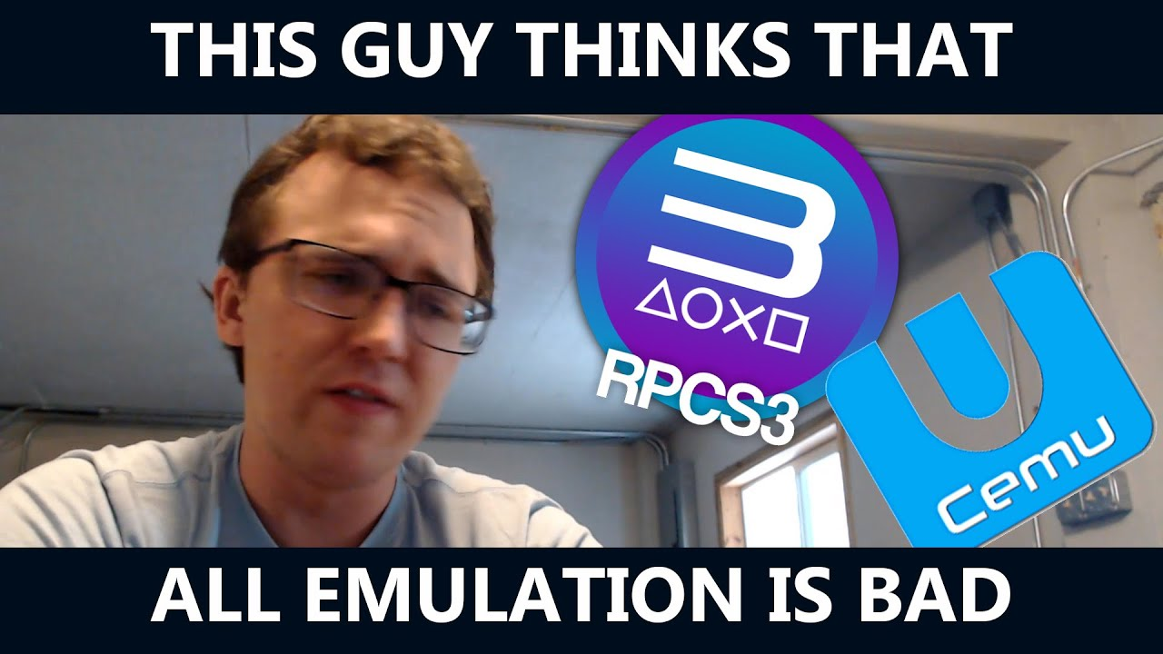 """Download This Nintendo Fanboy will now attempt to tell us why Emulation is """"Bad"""""""