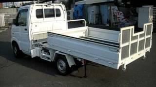 Repeat youtube video 【新商品】JA 車業界初 特許取得済 農援ローダー 軽トラを積車に!