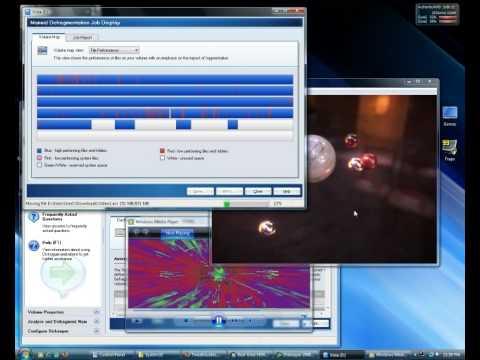 Windows Vista - Busy Desktop Demo