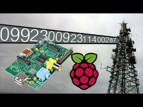 Numbers Station with only a Raspberry Pi and wire! (PiNumberStation Pirate  Radio)