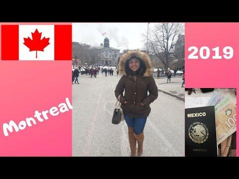 Primer viaje de estudios Internacional... ¡Segunda parada... Montreal!.... Canadá 2019