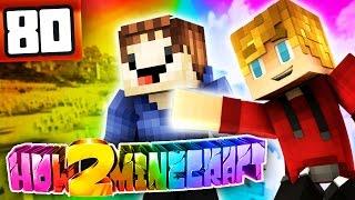 """Minecraft: How 2 Minecraft! (Season Two) """"RAINBOW MONSTER SCHOOL?"""" Episode 80 (Minecraft 1.8 SMP)"""