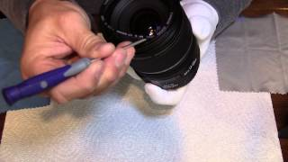 Cleaning a Canon 17-55mm USM IS