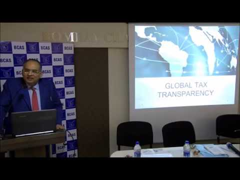 Lecture Meeting on Global Developments in International Taxation – Impacting India
