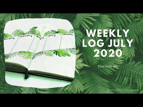 weekly-log---bullet-journal-ideas-july-2020---tropical-setup