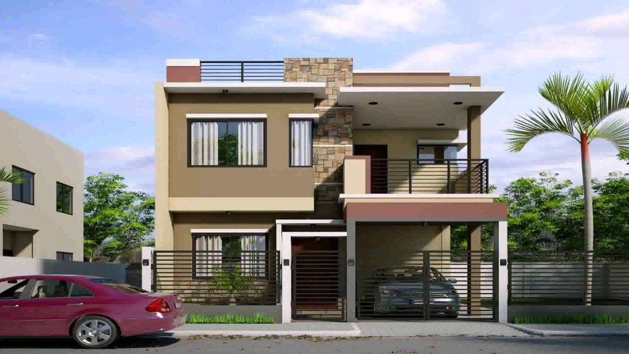 Small 2 storey house design in the philippines