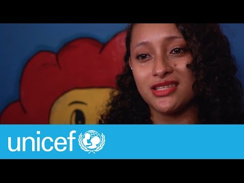 Honduran teen on what it's like to lose 5 friends to violence | UNICEF