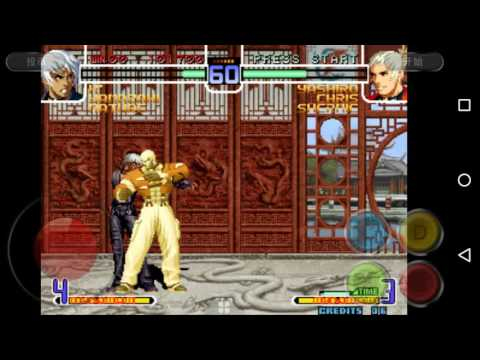 THE KING OF FIGHTERS 2002 ! EN ANDROID!