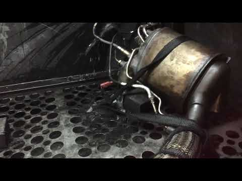 DPF repair and cleaning Hull cleaning a Seat 1.4tdi filter