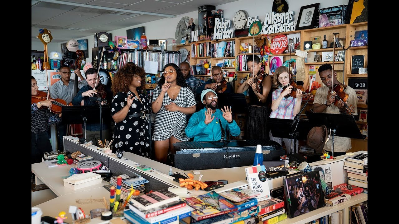 PJ Morton | NPR Music Tiny Desk Concert