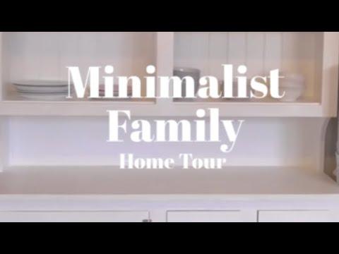 MINIMALIST FAMILY HOME : HOME TOUR /QUICK WALK THROUGH