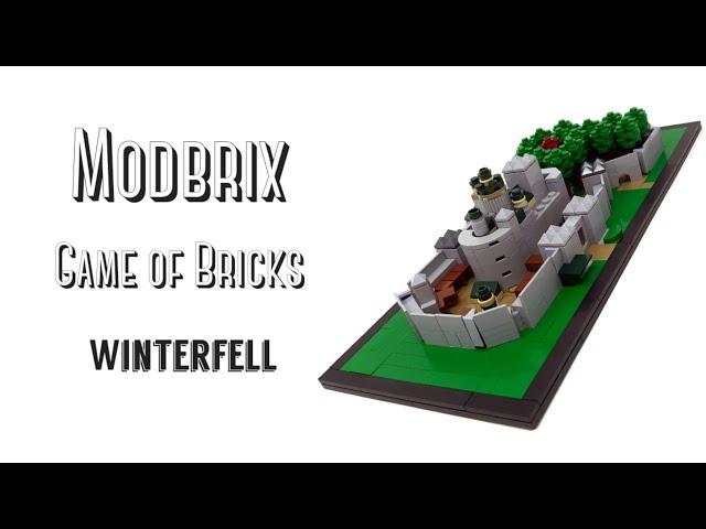 Modbrix Game of Bricks Winterfell - Review [Deutsch]