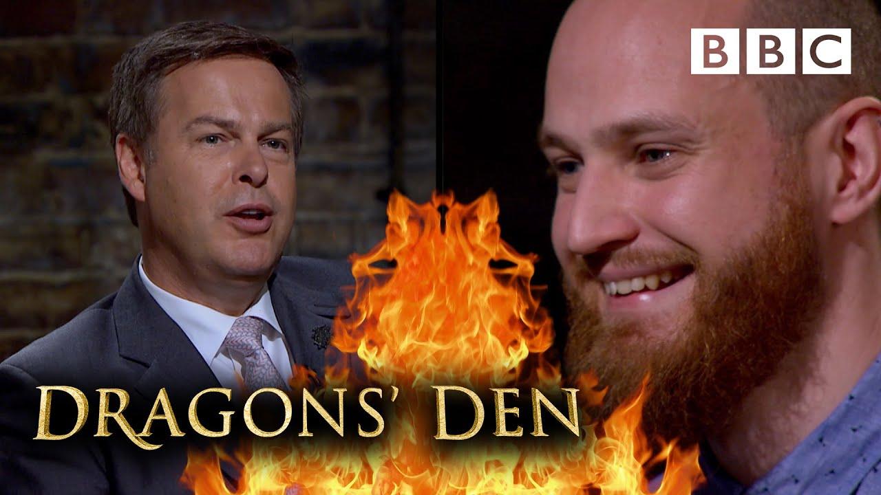 Dating app gets Dragons hot under the collar | Dragons' Den - BBC