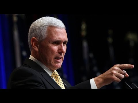 LIVE: Vice President Mike Pence's remarks on Barcelona Spain Breaking News