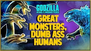 GODZILLA KING OF THE MONSTERS MOVIE REVIEW - Double Toasted
