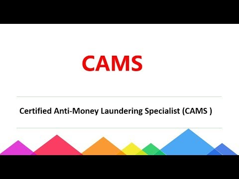 [100% Valid] CAMS Certified Anti-Money Laundering Specialist dumps|Passcert