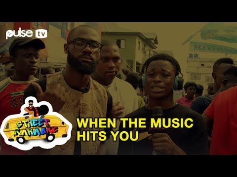 Davido 'IF',  John Legend 'All of Me', 2Face 'African Queen' on Streets of Lagos |  Street Karaoke