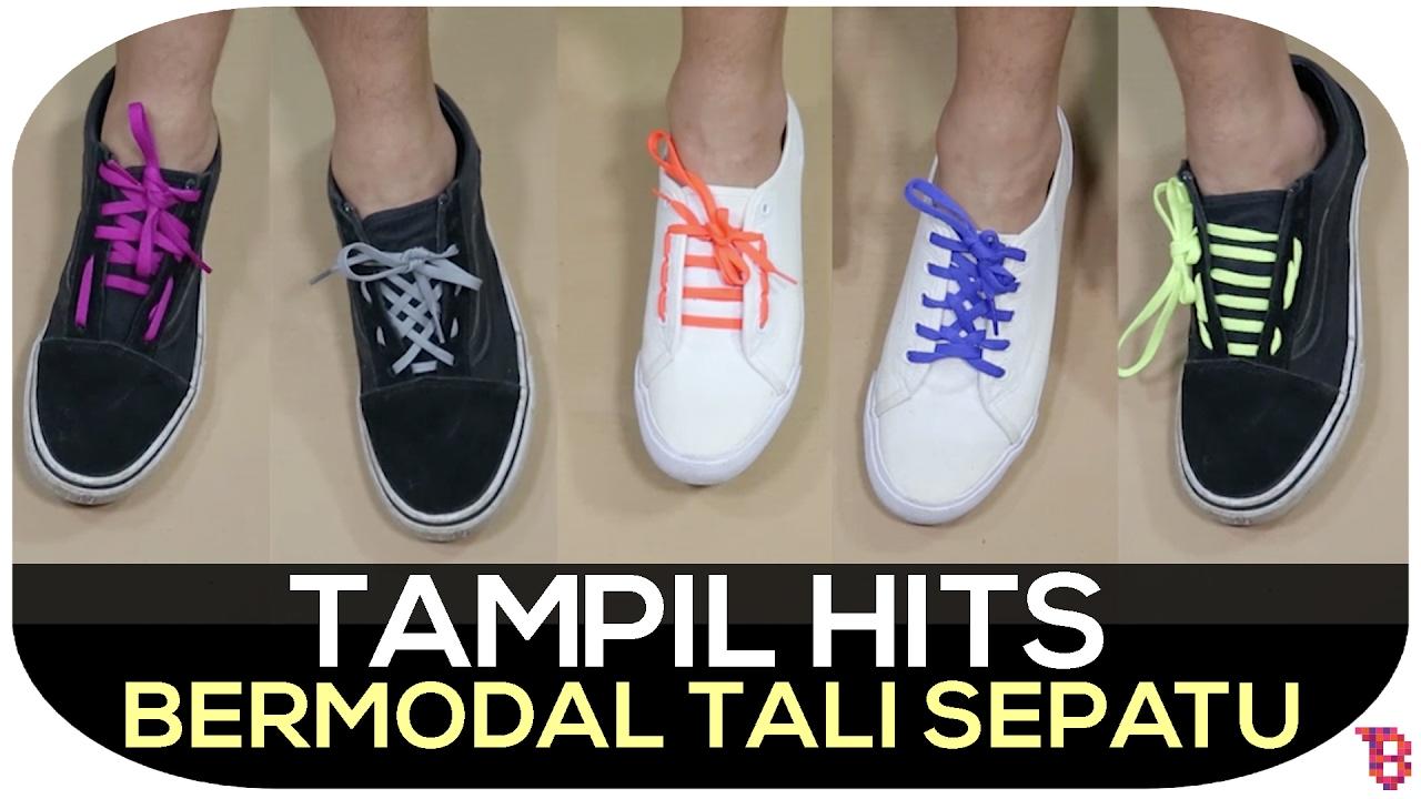 Cara Mengikat Tali Sepatu Keren Hits Dan Antimainstream Youtube