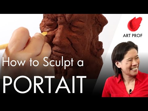How to Sculpt a Portrait with Air Dry Clay